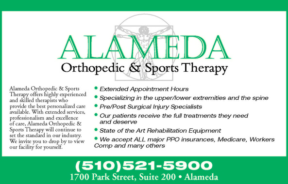 Alameda Orthopedic and Sports Therapy in Alameda CA