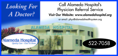 Alameda Hospital Physician Referral in Alameda CA