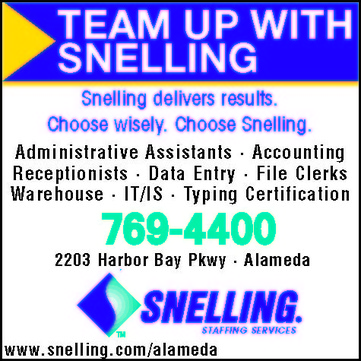 snelling employment in alameda ca