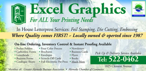 excel graphics in alameda ca